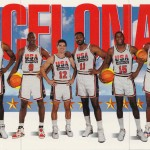 1991-92 Skybox USA Team Picture Barcelona '92