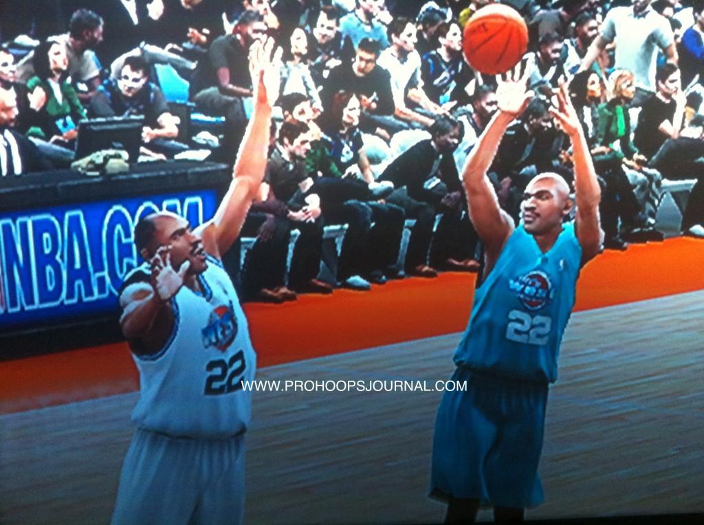'90s Clyde Drexler Punks '80s Clyde Drexler in NBA2k