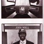 First Cards LeBron James & John Wall Donruss Elite 2010-11
