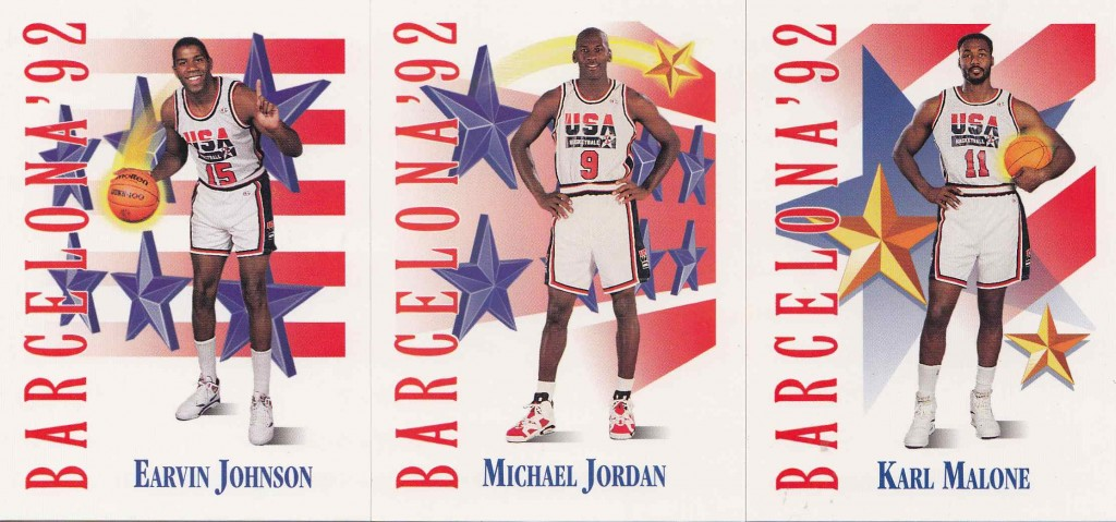 3950fe92750 Skybox '91-92 USA Basketball Cards: 1992 Barcelona Olympics Dream ...
