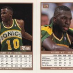 1990-91 Skybox #271 Nate McMillan Error (Back)