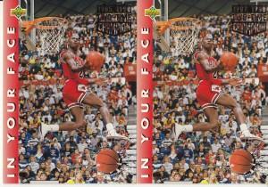 MJ Error 1992-1993 Upper Deck #453