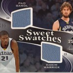 Upper Deck 2006-07 #087/199 Sweet Swatches Error (Front)