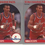 1990-91 Hoops #298 Tom Hammonds
