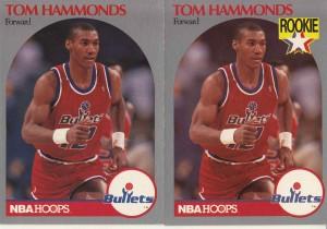 1990-91 Hoops #298 Tom Hammonds